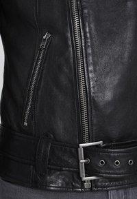 Tigha - ETHAN - Leather jacket - black - 4