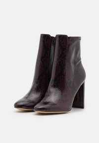 ALDO Wide Fit - AURELLANE - Bottines - bordo - 1