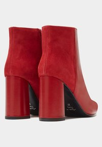 PoiLei - High heeled ankle boots - red - 2