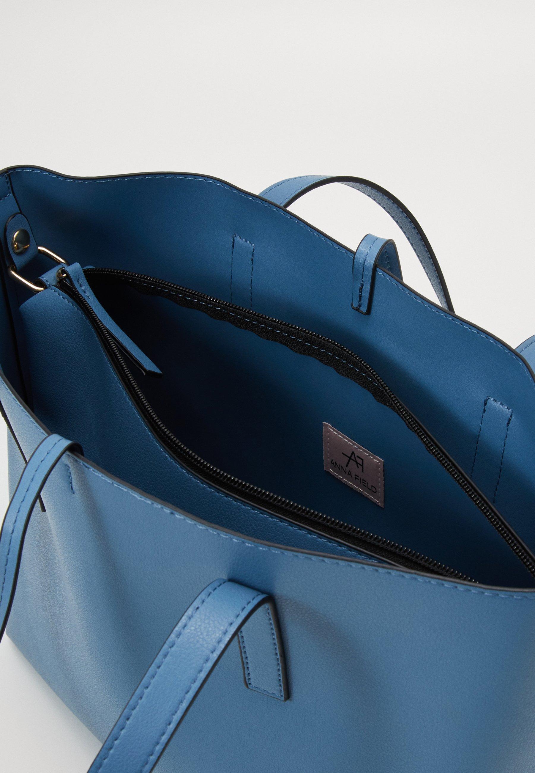 Anna Field Handtasche - Light Blue/hellblau