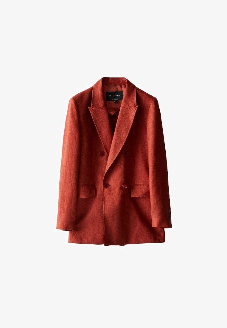 Massimo Dutti - ZWEIREIHIGER  - Blazer jacket - red