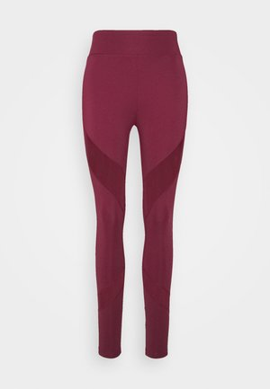 Tights - bordeaux