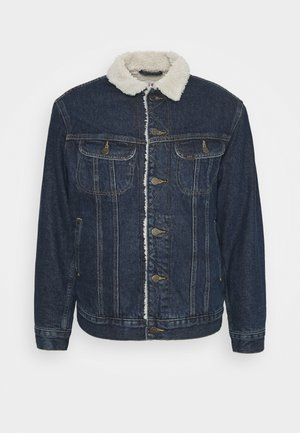JACKET - Winter jacket - dark blue denim