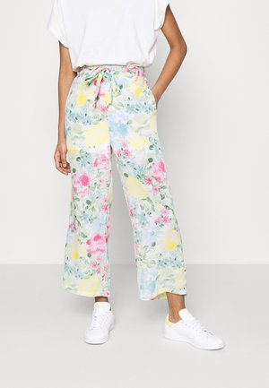VIADALINA WIDE SLID PANTS - Trousers - jelly bean