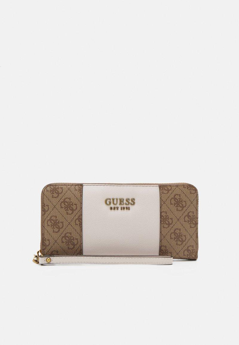 Guess - MIKA LARGE ZIP AROUND - Wallet - brown