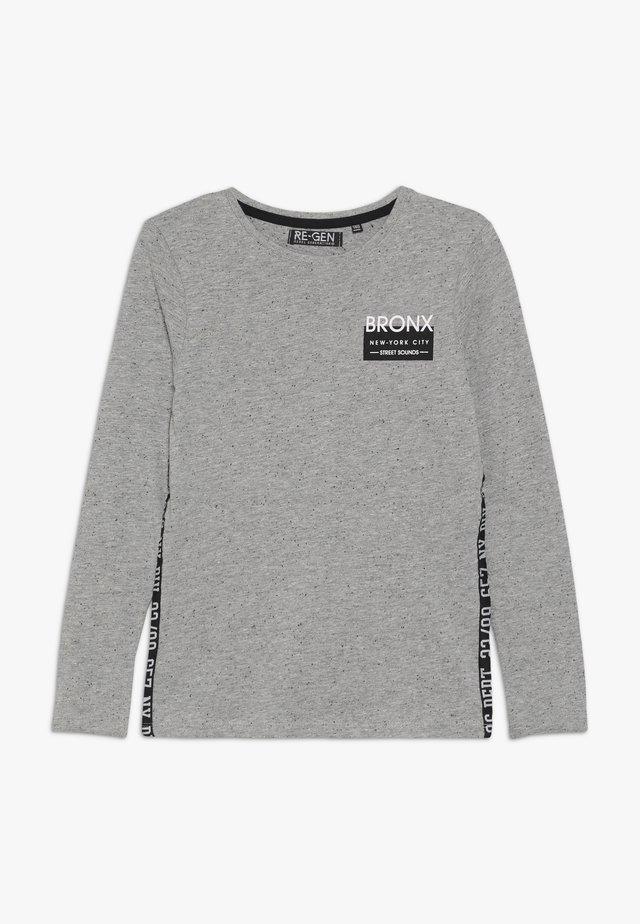 BOYS LONGSLEEVE - Long sleeved top - grey melange
