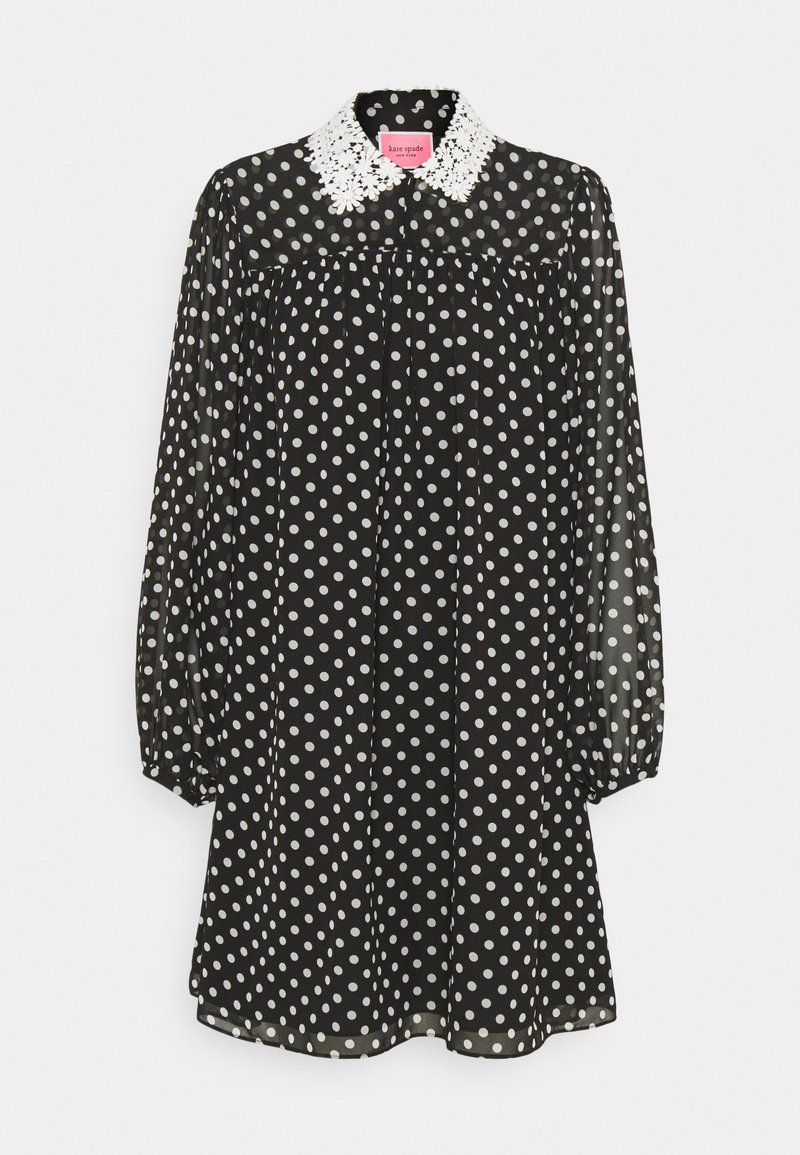 kate spade new york - LADY DOT SWING DRESS - Denní šaty - black