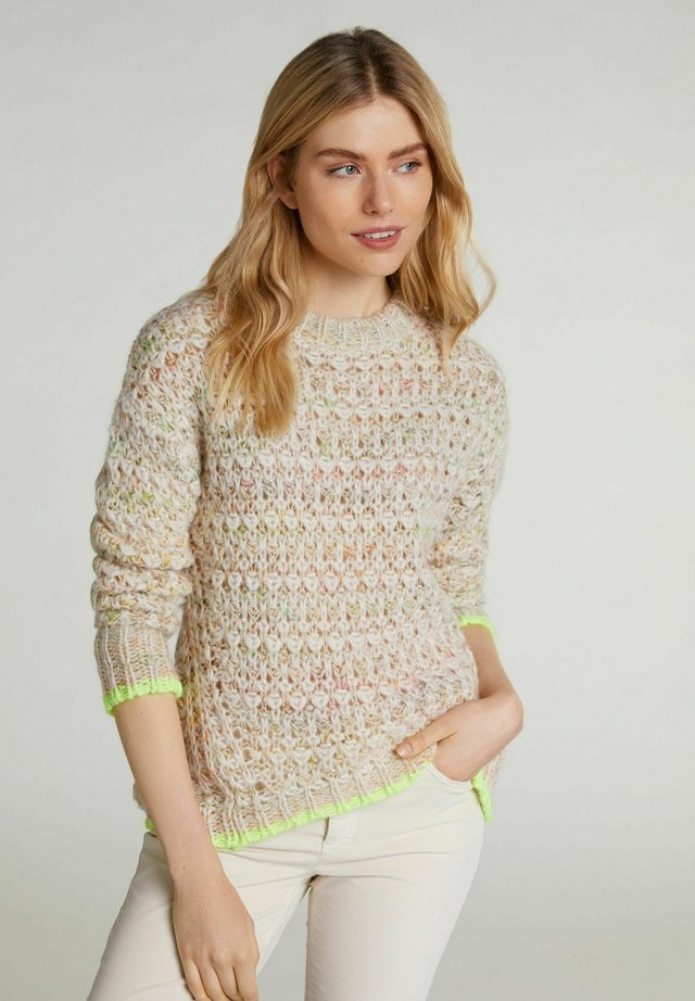 Pullover - lt camel yellow