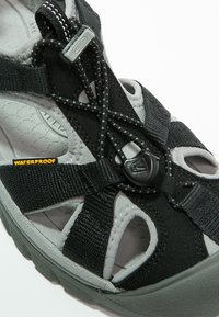 Keen - VENICE H2 - Outdoorsandalen - black/neutral grey - 5