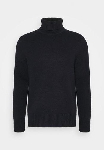 TURTLENECK JUMPER - Stickad tröja - blue medium