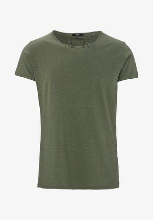 VITO SLUB - Print T-shirt - vintage military green