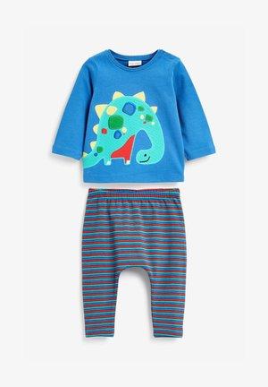 SET  - Leggings - Trousers - blue