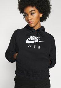 Nike Sportswear - AIR HOODIE - Kapuzenpullover - black/white - 5