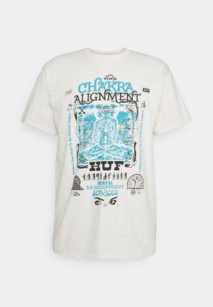 CHAKRA ALIGNMENT TEE - T-shirt imprimé - natural