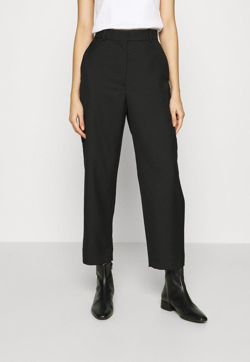ARKET - TROUSER - Trousers - black
