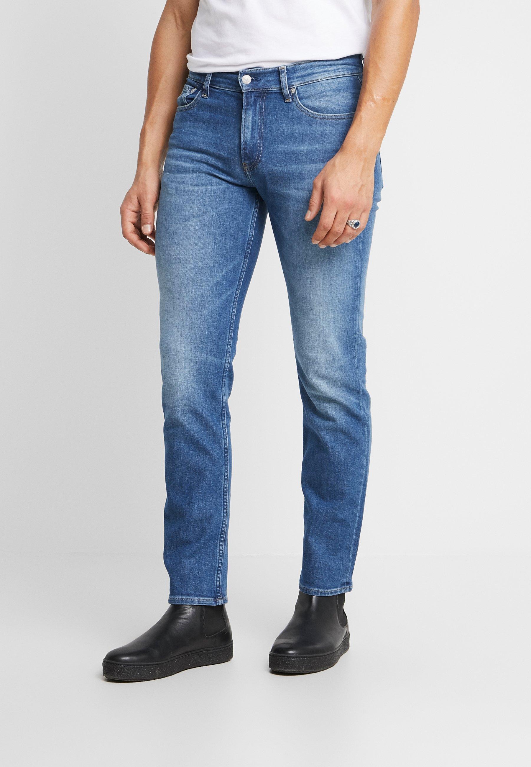 Iso Alennus Miesten vaatteet Sarja dfKJIUp97454sfGHYHD Calvin Klein Jeans 035 STRAIGHT Straight leg -farkut 061 bright blue