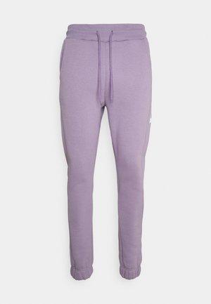 SIDE BASIS PRINT UNISEX - Spodnie treningowe - lilac