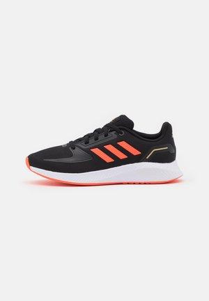 RUNFALCON 2.0 UNISEX - Zapatillas de running neutras - core black/solar red/footwear white