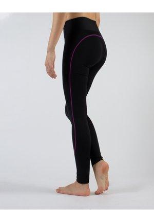 ANTICELLULITE - Leggings - Stockings - fuchsia
