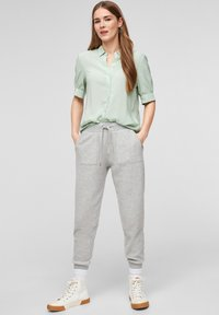 QS by s.Oliver - Button-down blouse - mint - 1