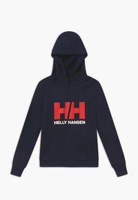 Helly Hansen - LOGO HOODIE UNISEX - Hættetrøjer - navy - 0