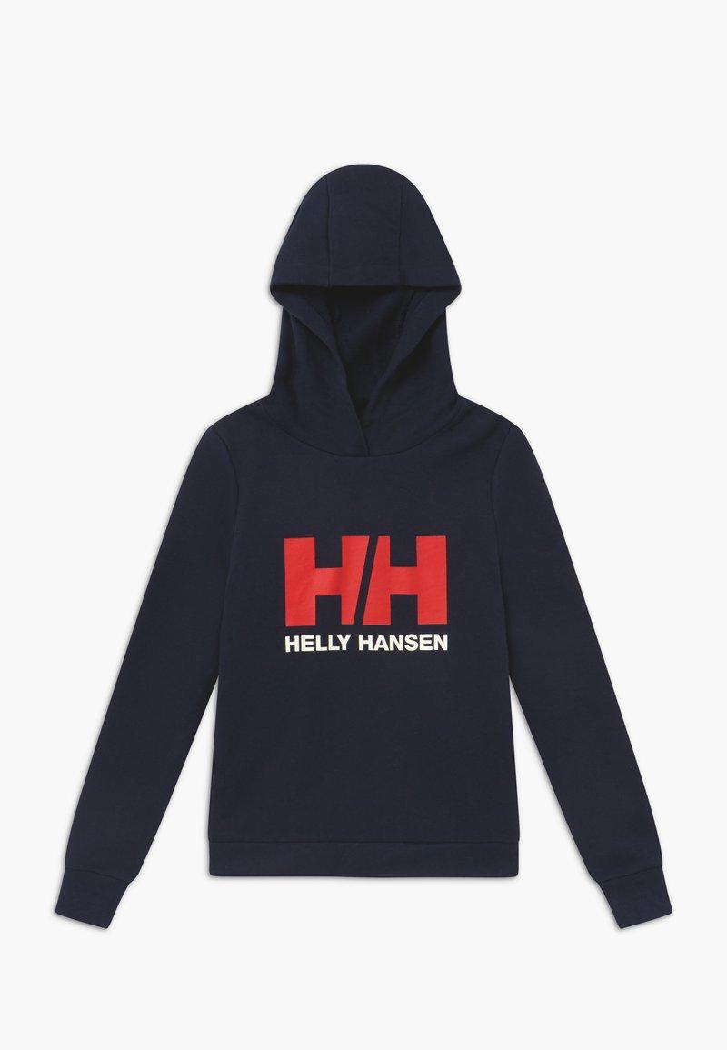 Helly Hansen - LOGO HOODIE UNISEX - Hættetrøjer - navy