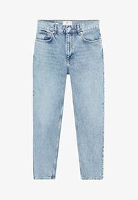Mango - MOM80 - Slim fit jeans - middenblauw - 6