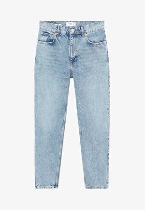 MOM80 - Jean slim - middenblauw