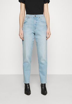 MOM  - Jeansy Relaxed Fit - clear blue