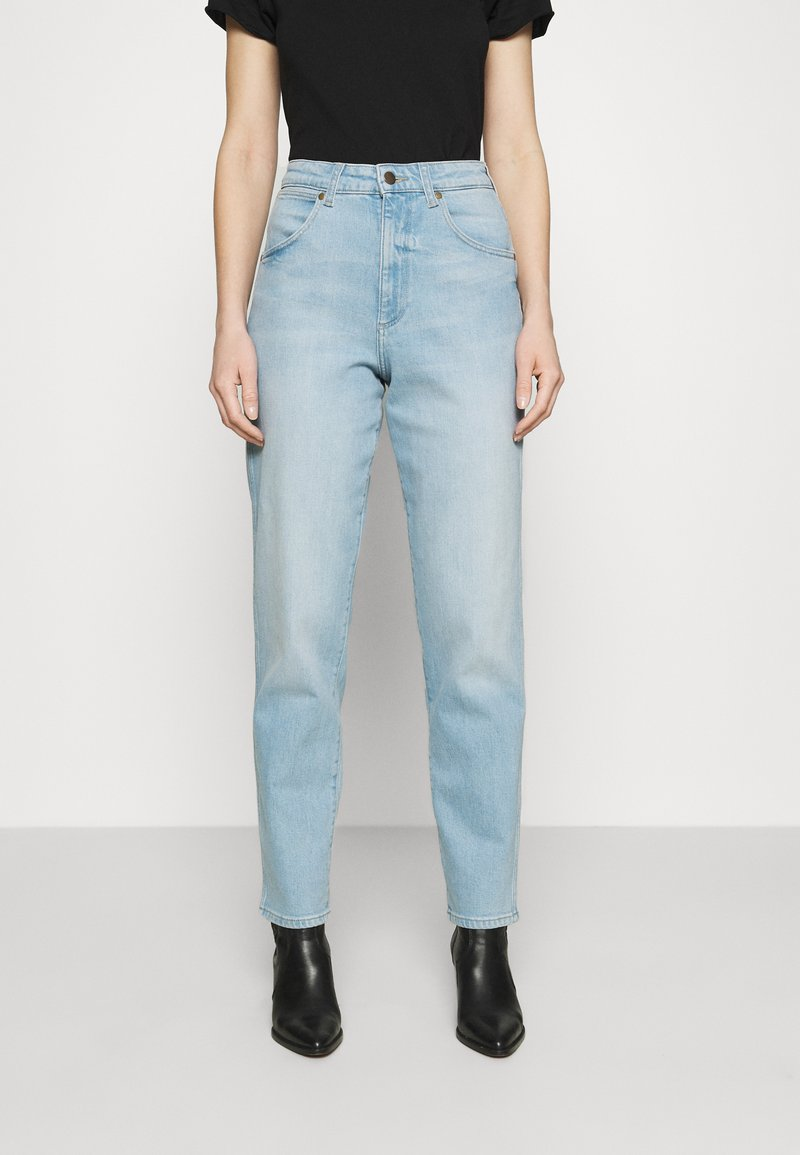 Wrangler - MOM  - Relaxed fit jeans - clear blue