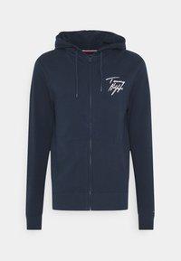 Tommy Hilfiger - HOODIE - Pyjama top - blue - 4