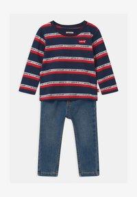 Levi's® - SET  - Slim fit jeans - dark blue/red - 0