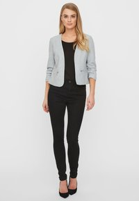 Vero Moda - Bleiseri - light grey melange - 1
