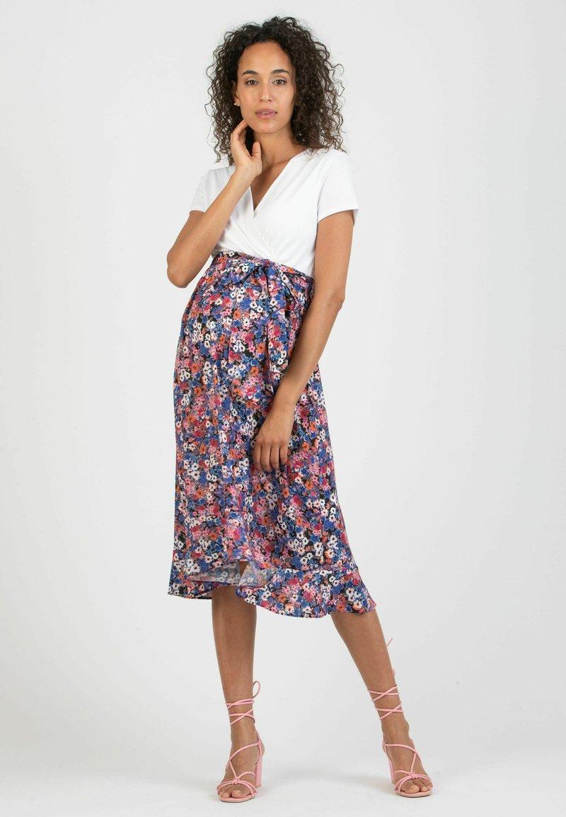 ATTESA - MARTA - Denní šaty - white