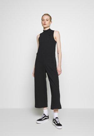 Jumpsuit - black/smoke grey