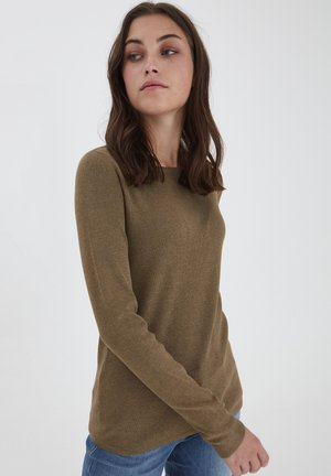 SARA - Sweater - crocodile melange