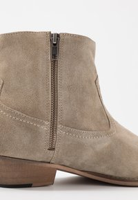 House of Hounds - OUTLAW ZIP BOOT - Botki kowbojki i motocyklowe - sand - 5