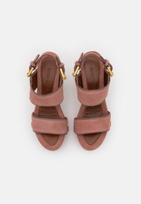 See by Chloé - GALY - Platform sandals - pink - 4
