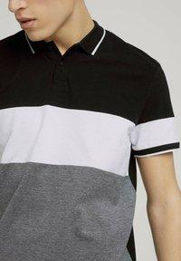 TOM TAILOR DENIM - Polo shirt - black - 3