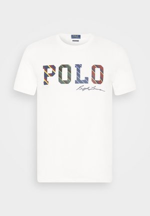 SHORT SLEEVE - T-shirt con stampa - deckwash white