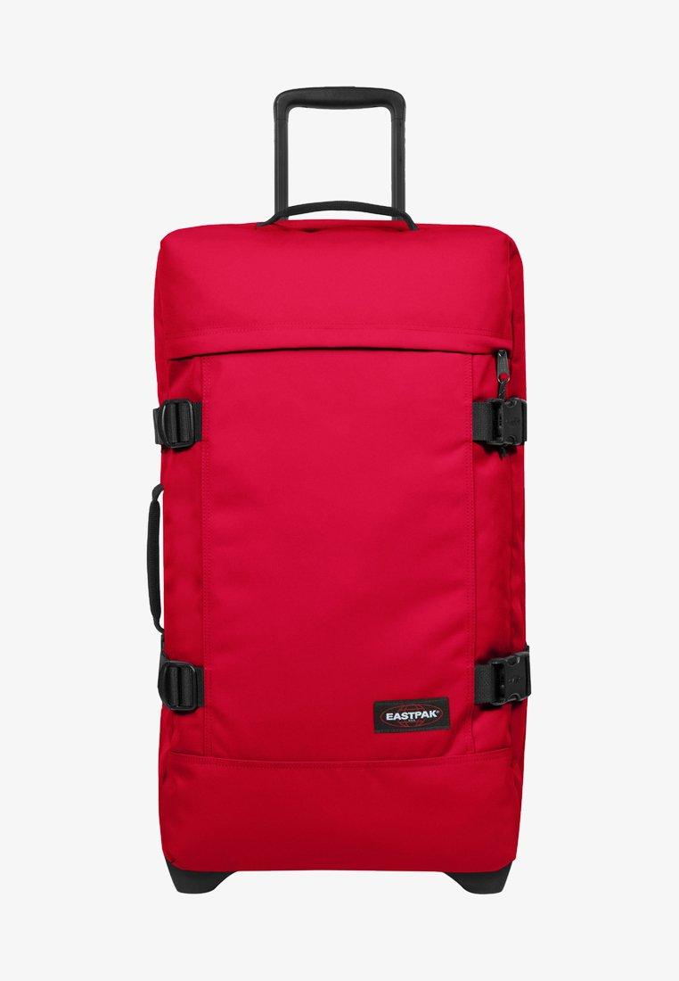 Eastpak - TRANVERZ - Wheeled suitcase - sailor red