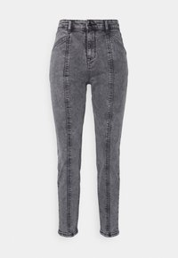 b.young - BYKATO BYKILLI MOM CUT  - Relaxed fit jeans - mid grey - 0