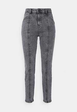 BYKATO BYKILLI MOM CUT  - Relaxed fit jeans - mid grey