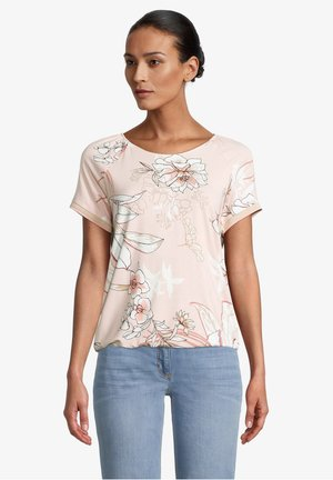 Blouse - rose/cream