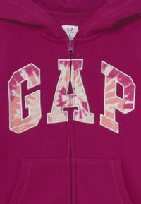 GAP - LOGO - Zip-up sweatshirt - orchid blossom - 2
