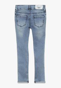 Blue Effect - GIRLS STREIFEN CROPPED - Jeans Skinny Fit - light blue - 1