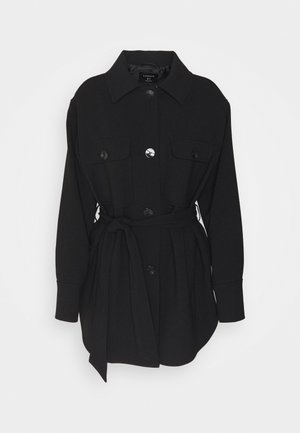 NELLIE COAT - Short coat - black