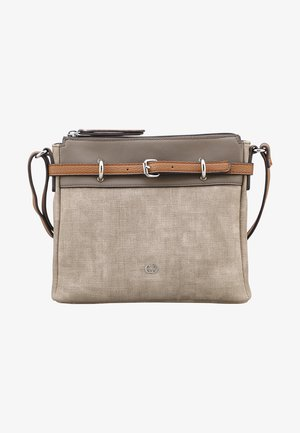 BACK TO EARTH MHZ - Across body bag - taupe
