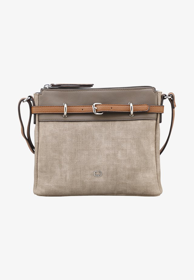 BACK TO EARTH MHZ - Borsa a tracolla - taupe
