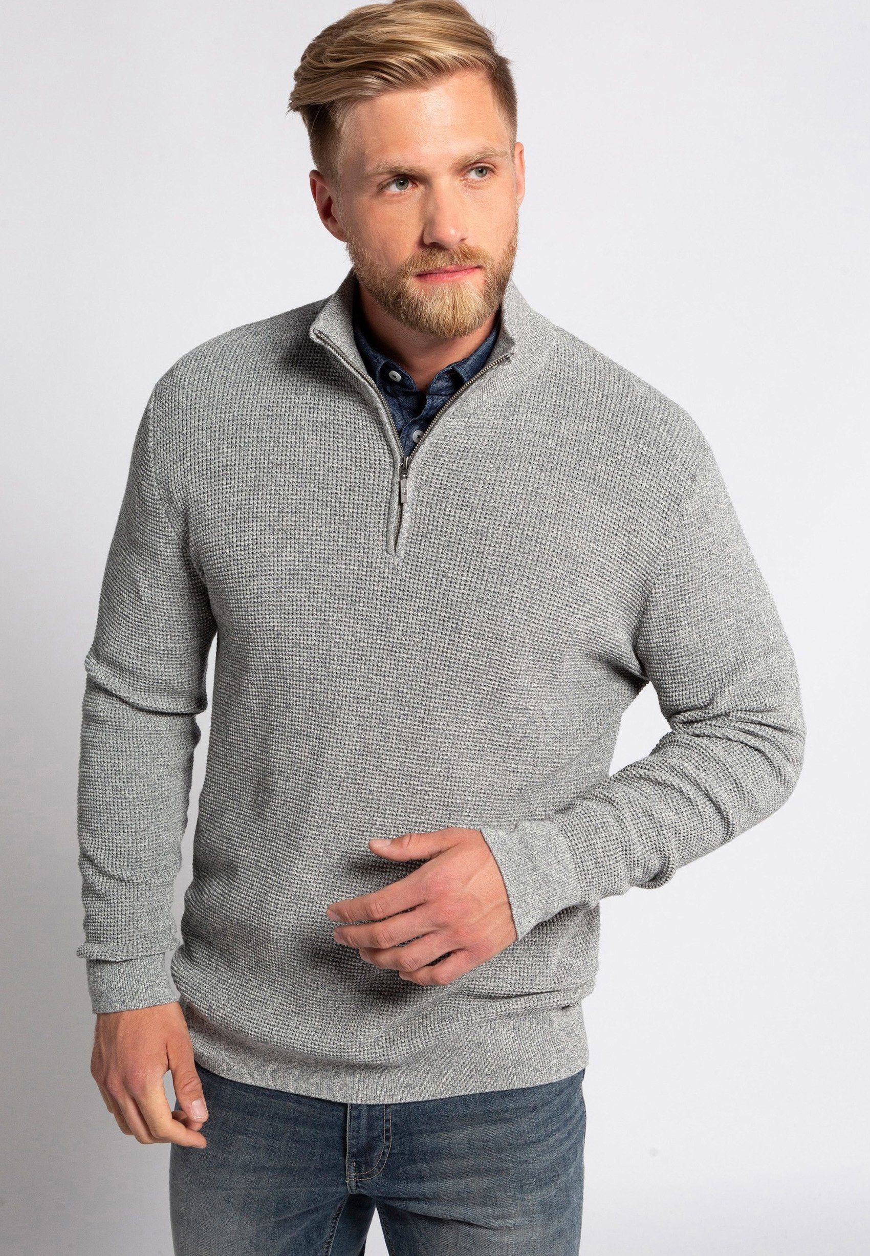 Homme GRANDES TAILLES PULL CAMIONNEUR - Pullover